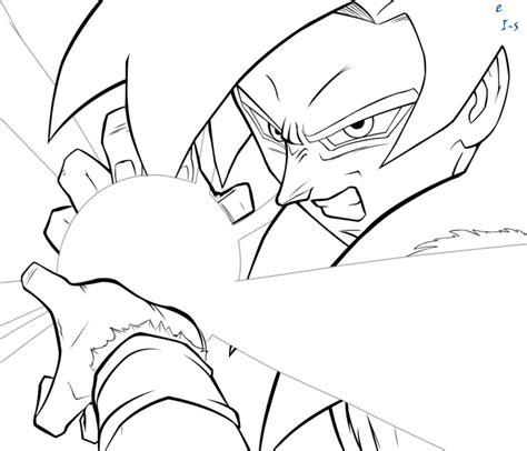 imagenes para colorear goku fase 4 dibujos de goku fase 4 para colorear imagui