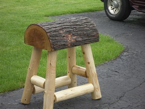 How To Make Saddle Bar Stools by 1 Authentic Western Saddle Bar Stools Barstools Decor Counter Rustic Log Ebay