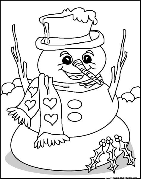 girl snowman coloring page snowman free colorings pages printable