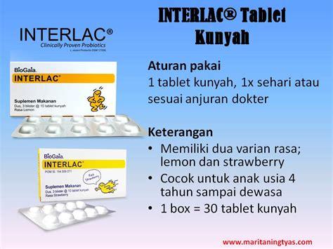 Obat Interlac interlac 174 menjaga kesehatan saluran cerna seluruh keluarga