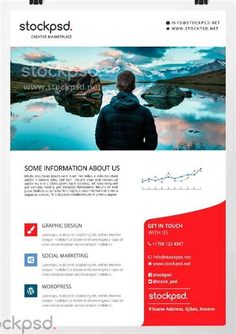 information flyer template 80 creative modern free business flyers templates