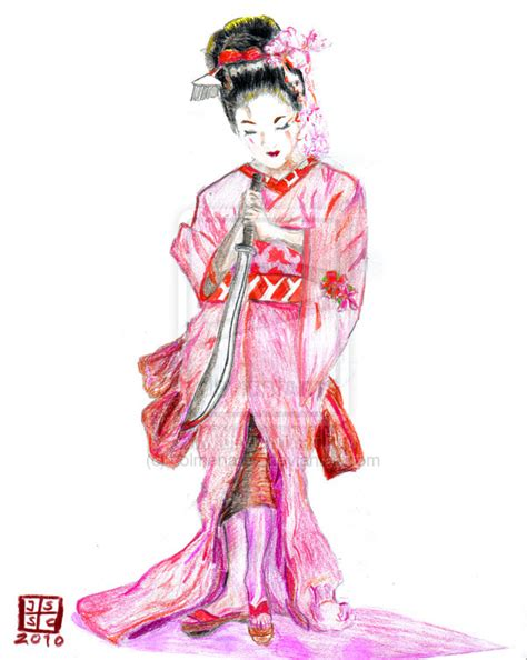 geisha warrior tattoo drawings geisha warrior tattoo by colmenares on deviantart