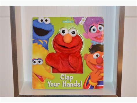 puppet book report seseme elmo quot clap your quot puppet book saanich