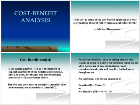 cost benefit analysis exles for excel ppt and pdf