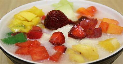 cara membuat es buah yoghurt cara membuat sop buah yoghurt sehat segar bunda masak