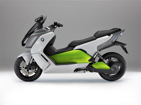 bmw unveils c evolution electric scooter prototype