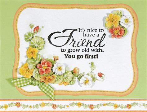 quot friend quot birthday card