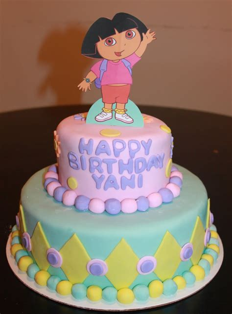 birthday cake dora cakes decoration ideas little birthday cakes
