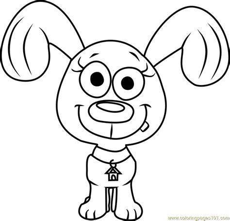 coloring pages pound puppies pound puppies rebound coloring page free pound puppies