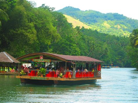 floating boat restaurant in bohol day tour bohol part 3 loboc floating restaurant blood