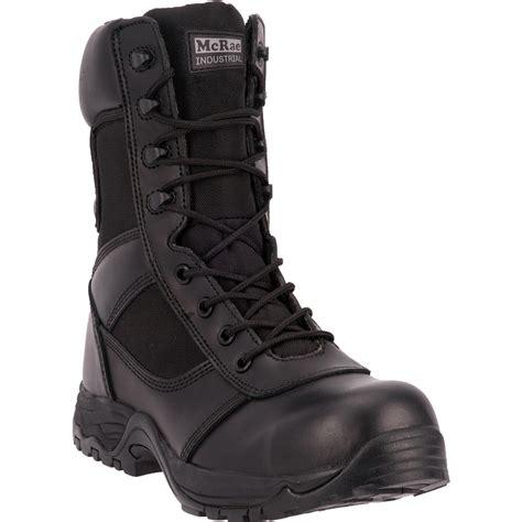 mcrae 8 quot composite toe tactical work boots black 657369
