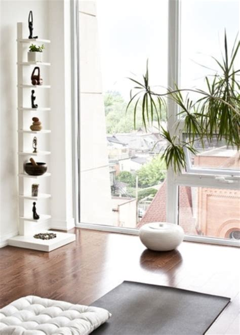 Yoga Inspired Home Decor | 33 minimalist meditation room design ideas digsdigs