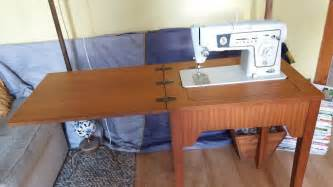 Hideaway Sewing Machine Cabinet Singer Vintage Electric Sewing Machine Model 478 Built