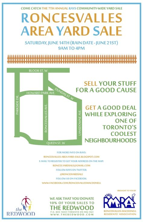 How To Find Garage Sales In Area by Roncesvalles Area Yard Sale Saturday June 14