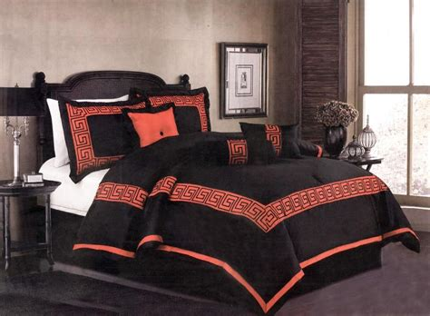 asian comforter sets queen 7 pcs embroidery oriental square comforter set bed in a