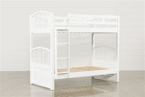 living spaces bunk beds bayfront twin over twin bunk bed living spaces