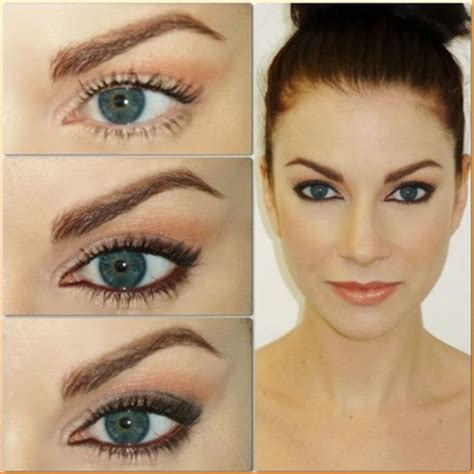 eyeliner color for brown makeup tips for hazel and black hair