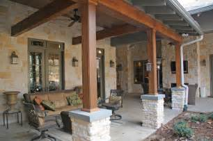 Texas hill country house traditional patio other metro by