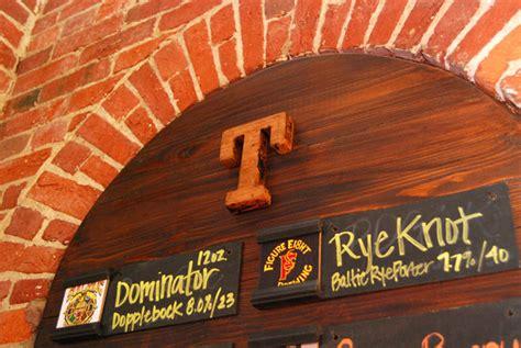 tomlinson tap room tomlinson tap room menu identity designed