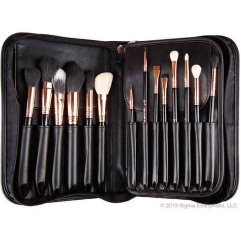 Jual Sigma Brush Set sigma make up artist gold set 29 brushes free shipping lookfantastic