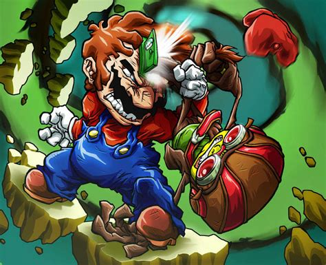 imagenes epicas mario 25 super mario art interpretations