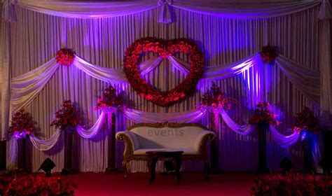 indian wedding reception decorations valentine theme