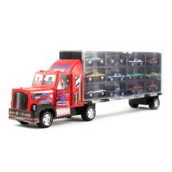 Wheels Truck And Cer 13pc Thunder Wheels Semi Truck Vehicle Race Car