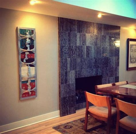 Metal Wall For Dining Room Eclectic Metal Wall Decor In Renovated Mid Century Modern