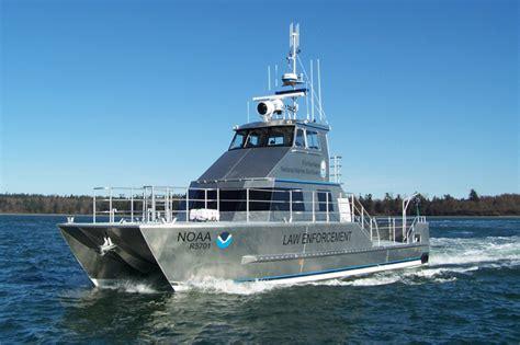 catamaran aluminum boat work type work boats archive all american marine