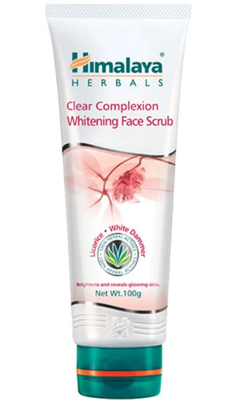 Scrub Himalaya clear complexion whitening scrub from himalaya herbal