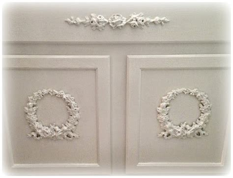 kitchen cabinet appliques not so shabby shabby chic adding appliques to bathroom