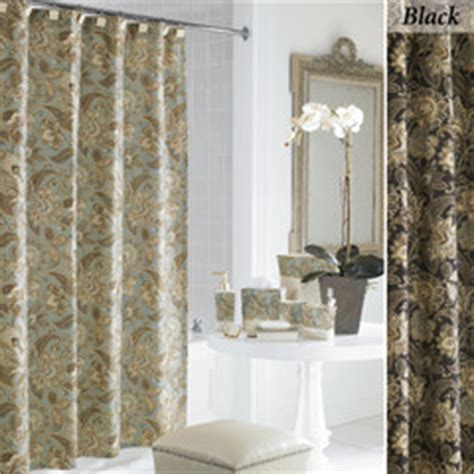 Valdosta Jacobean Floral Shower Curtain By J Queen New York