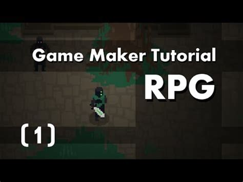 tutorial online game game maker tutorial build an rpg 1 in 10mins youtube