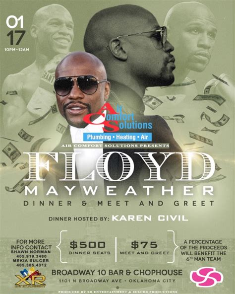 air comfort solutions oklahoma city floyd mayweather is coming to oklahoma city