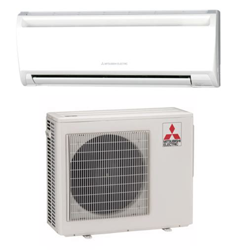 mitsubishi ductless split air conditioners heat pumps