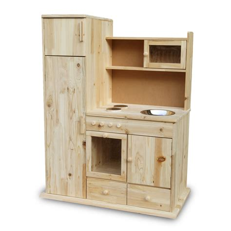 Small Wooden Play Kitchen by Childrens Wooden Kitchen Pretend Play Microwave Small