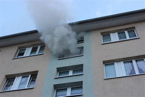 rauch aus wohnung brandfall feuerwehr heilbad heiligenstadt