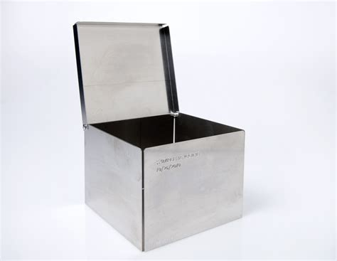 aluminum box freezer boxes 2 quot aluminum box with rivet hinge cryogenic products tool inc