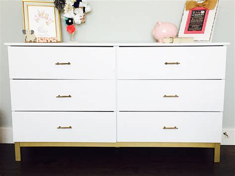 Ikea Furniture Redone by Customizing Ikea Furniture A Sweet Chic Dresser For Our