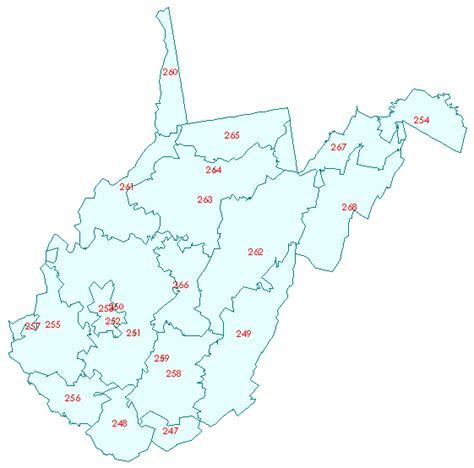 zip code map west virginia west virginia zip code map bnhspine com