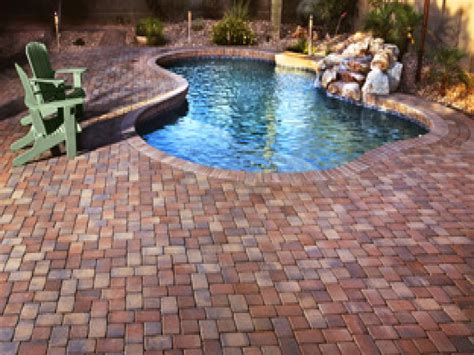 pool paver ideas red brick patio pavers large pavers around pools patio