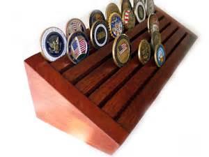 challenge coin geocoin display holder rack
