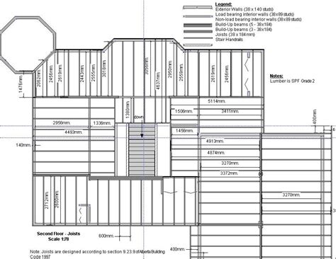 floor framing plan the house i built getting permits