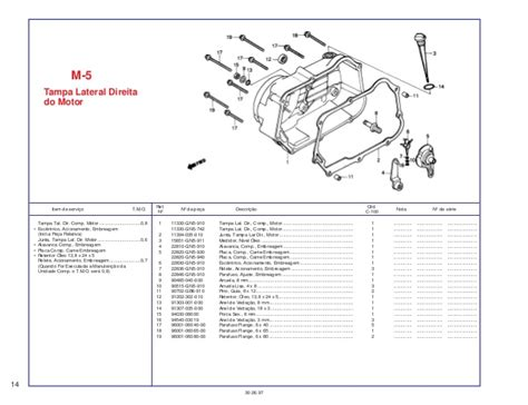 Spare Part Ex5 honda ex5 100 spare part catalog manual