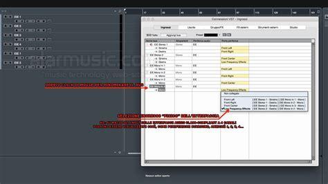 ingresso audio steinberg cubase configurazione ingressi e uscite audio