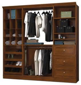 classic wardrobe in tuscany brown finish contemporary