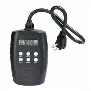 digital outdoor light timer westek tm15dolb 2 outlet digital outdoor timer with