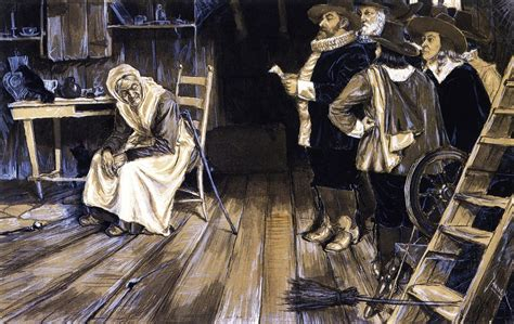 witch hunt the witch hunt 1888 henry ossawa wikiart org