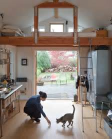 garage conversion into tiny house de la