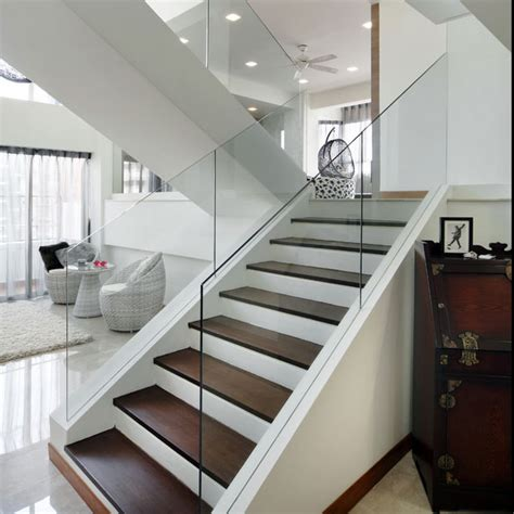 glass banister staircase 20 glass staircase wall designs with a graceful impact on the overall decor